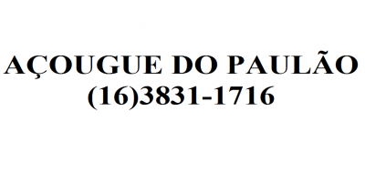 ACOUGUE DO PAULAO