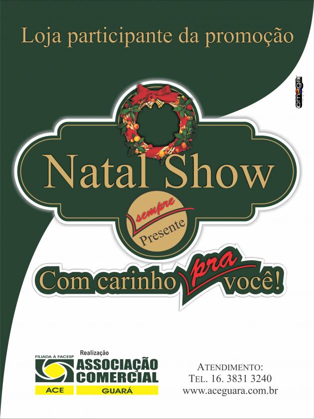 ACE REALIZA PRIMEIRO SORTEIO DA PROMOÇÃO NATAL SHOW 2012